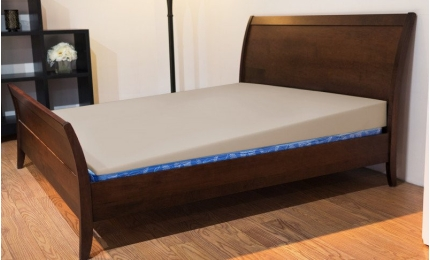 Elevation Therapy Wedge Mattress Elevator Cotton Canvas Cover - Natural color